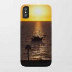 Sunset in Cyprus Slim Case iPhone X