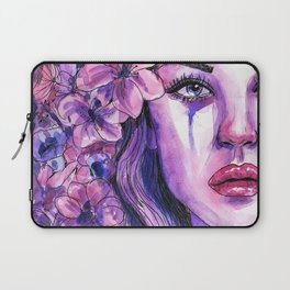 'Letting Go - Watercolour Painting Laptop Sleeve