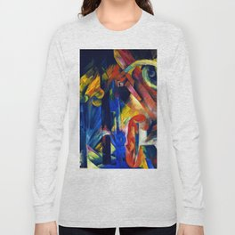 """Franz Marc """"Forest with squirrel"""" Long Sleeve T-shirt"""