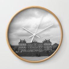 Cloud cover Wall Clock