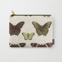 BUTTERFLIES Sensation by Albertus Seba Carry-All Pouch
