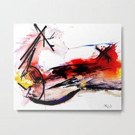 Quixote La Mancha Metal Print