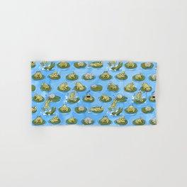 Froggy Fun Hand & Bath Towel