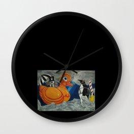 Yellow Ducky Wall Clock