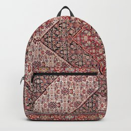 Sehna Antique Kurdish Persian Tribal Rug Backpack