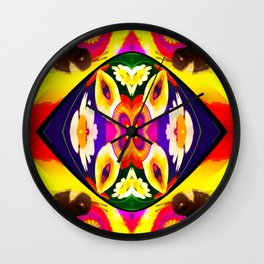 all seeing bees Wall Clock