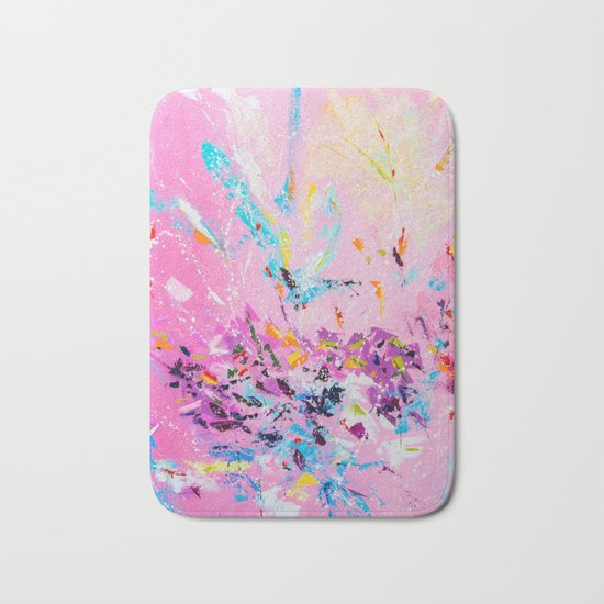 The flash of happiness Bath Mat