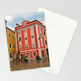 Apartments in Parin, Slovenia Stationery Cards
