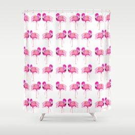 Go-Go Flamingo Shower Curtain