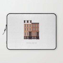 New York, NY Brownstone Laptop Sleeve