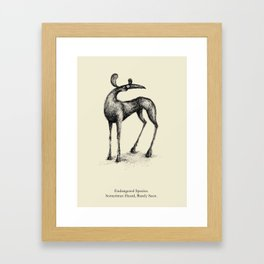Endangered Species Framed Art Print