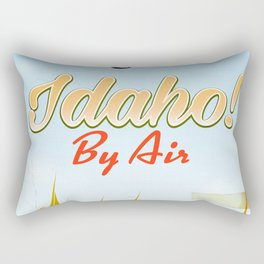 Idaho! By air Poster Rectangular Pillow