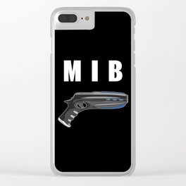 MIB Pistol Clear iPhone Case