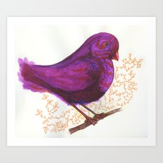 Dollar Store Dove Art Print