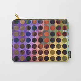 MELANGE of VIOLET and RUST Carry-All Pouch