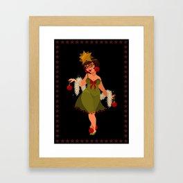 Christmas Cards - Christmas Tree Framed Art Print