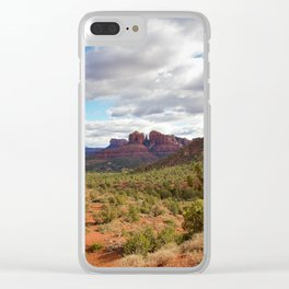 Sedona Landscape by Reay of Light Clear iPhone Case