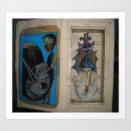 the butterfly's queen Art Print