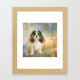 The Attentive Cavalier Framed Art Print