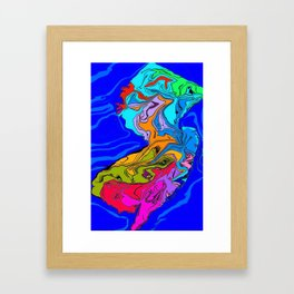 JERSEY 6 Framed Art Print