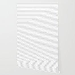 White Black Lines Minimalist Wallpaper