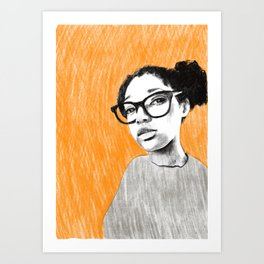 Nice new glasses Art Print