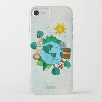 planet iPhone & iPod Cases featuring Planet by Design SNS - Sinais Velasco