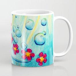 Aqua Fleur - Mazuir Ross Coffee Mug