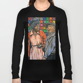 Aunt Esther vs. Fred Sanford Long Sleeve T-shirt