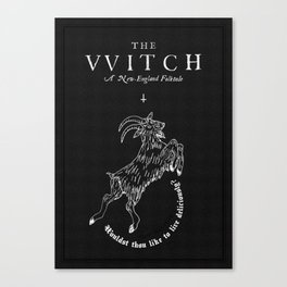 The Witch - Black Phillip Canvas Print