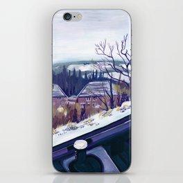 A British Winter Landscape iPhone Skin
