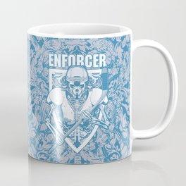 Enforcer Ice Hockey Player Skeleton Coffee Mug