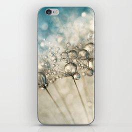 Sapphire & Silver Sparkle iPhone Skin
