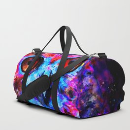 owl purple blue perfect Duffle Bag