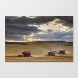The Race to Finish Canvas Print