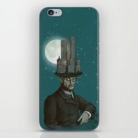 architect iPhone & iPod Skins featuring The Architect (colour option) by Eric Fan