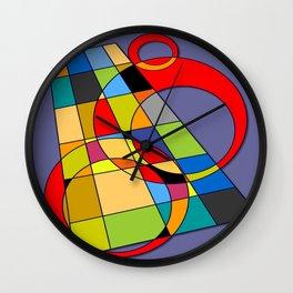 Abstract #52 Wall Clock