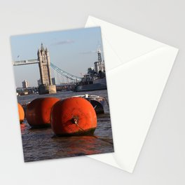 The River Thames, London, England Stationery Cards