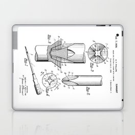 Phillips Screwdriver: Henry F. Phillips Screwdriver Patent Laptop & iPad Skin