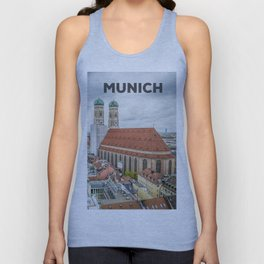 The Cathedral of Munich Unisex Tank Top