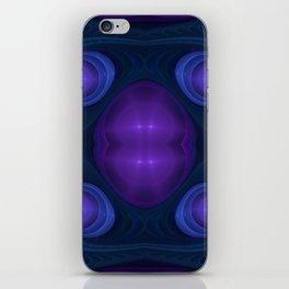 """Peacock Space"" Fractal Flame Art iPhone Skin"