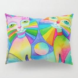 Rainbow Pussies Pillow Sham