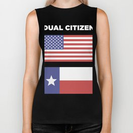 Dual Citizen Of The United States & Texas Biker Tank