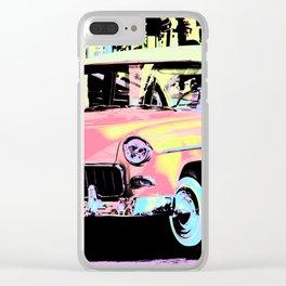 Cuban Classic Car Clear iPhone Case