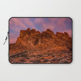 Sunrise Glow - Valley of Fire State Park Laptop Sleeve
