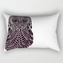 'Masked Owl' Rectangular Pillow