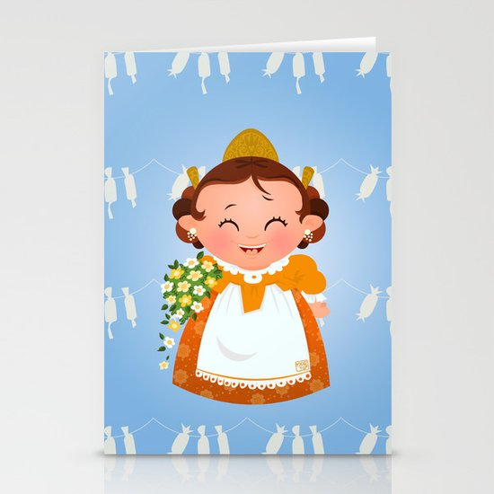 Fallera Stationery Cards