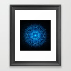 The Blues IV Framed Art Print