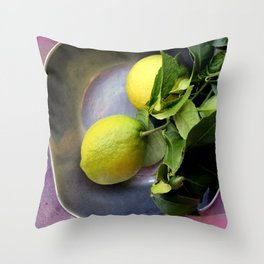 Pewter There Throw Pillow