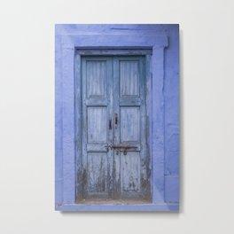 Doors Of India IV Metal Print